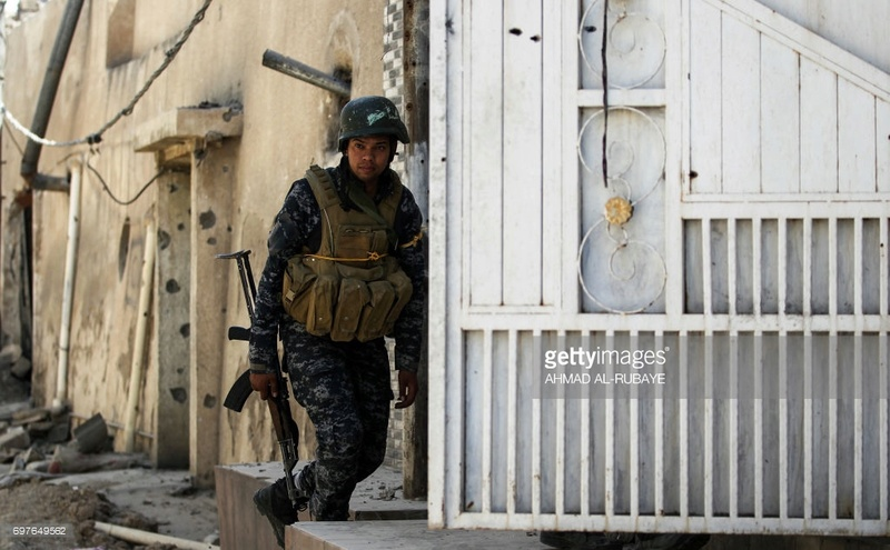 "Iraqi Federal Police ""Ciras"" modified with Chest rig  69764910"