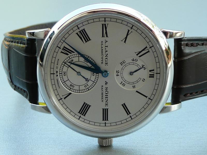 Feu de vos montres à aiguilles bleues Montre15