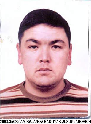 Amirajanov Baktiyar Jusupjanovich -   Kyrgyzstan 54002210