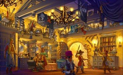 """Pirates League , une nouvelle Bibbidi Bobbidi boutique pour """"boys"""" à WDW Pirate12"""