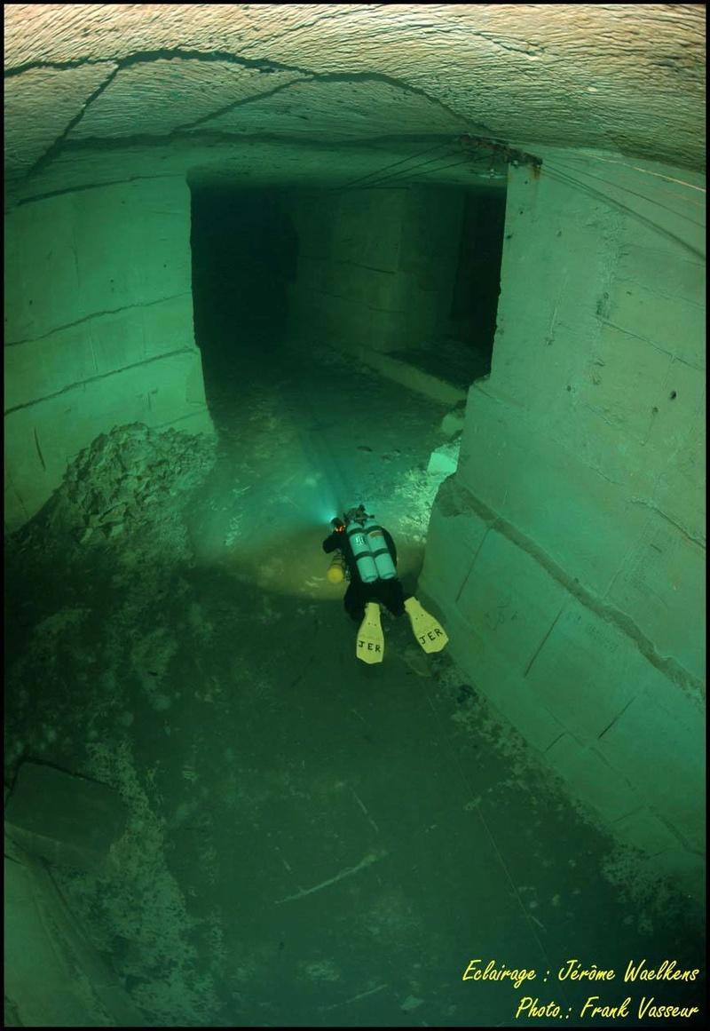 Plongée souterraine dans une mine abandonnée au sud ouest de la France Memes310