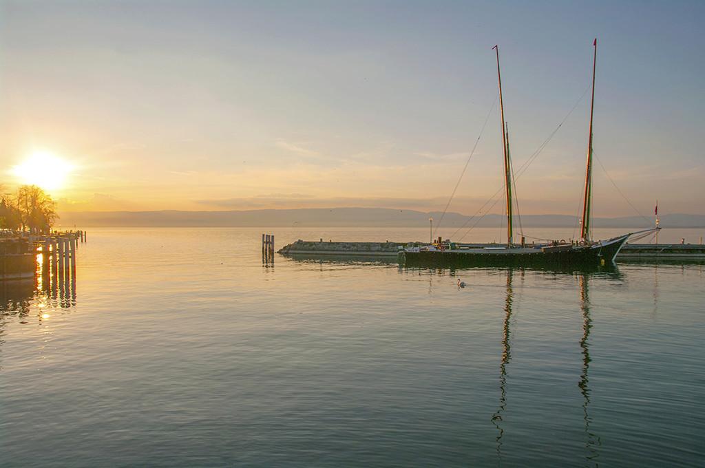 Port d'Evian les Bains  .... 20130413