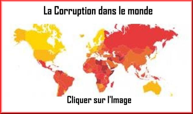 Les niveaux de corruption dans le monde 14431111