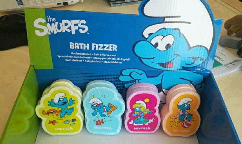schtroumpfs - [topbrands europe] shampoing et savon schtroumpfs Sa10