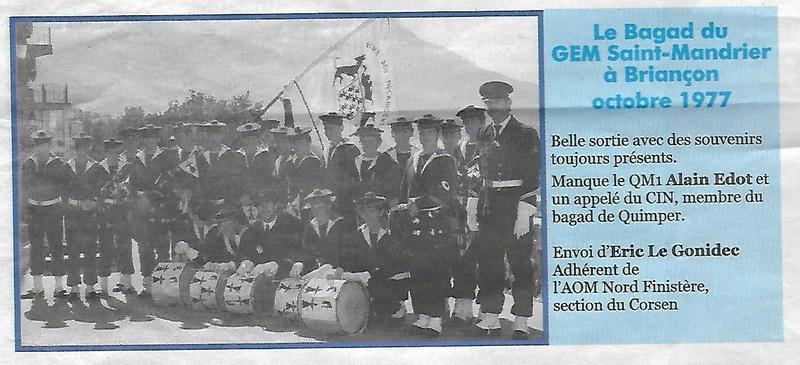 [Musique dans la Marine] Bagad de Saint Mandrier - Page 24 Scan_158