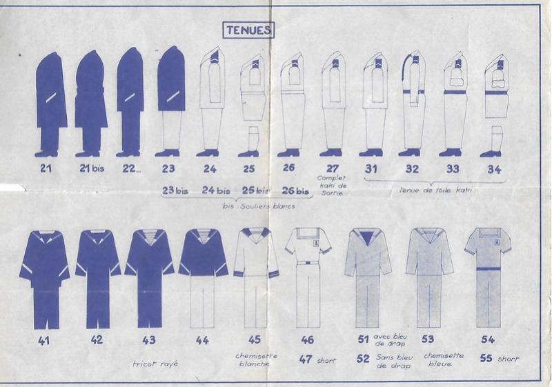 [LES TRADITIONS DANS LA MARINE] TENUE DANS LA MARINE- TOME 03 - Page 6 Scan_238