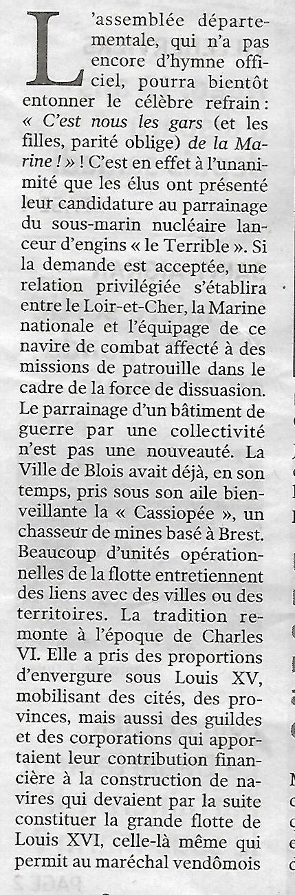 [Les traditions dans la Marine] Les Villes Marraines - Page 11 Scan_258