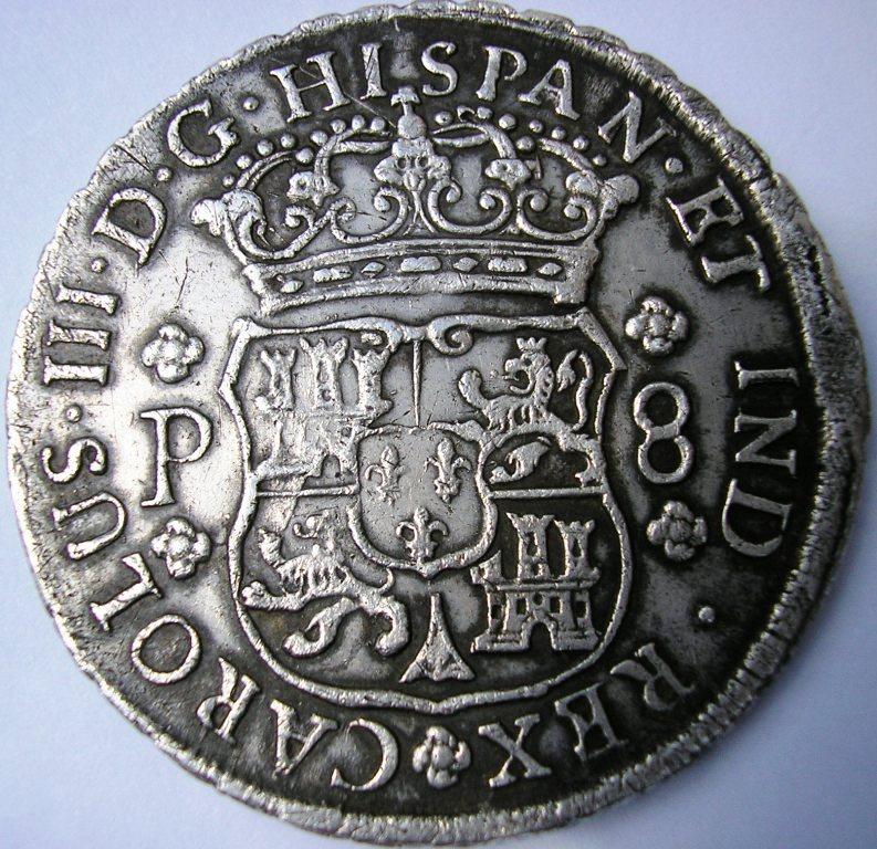 Guatemala 1768 Carlos11