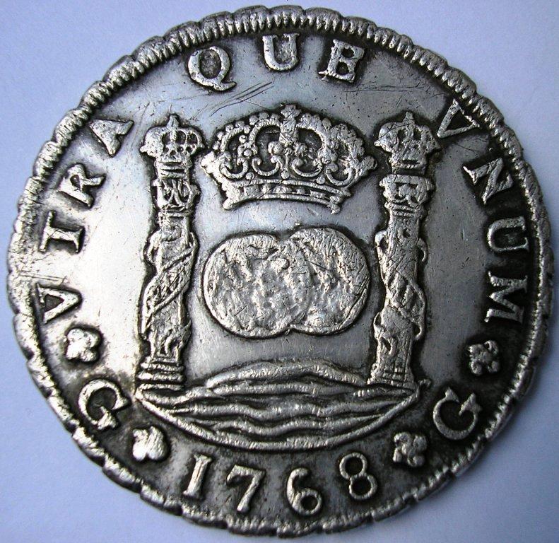 Guatemala 1768 Carlos12