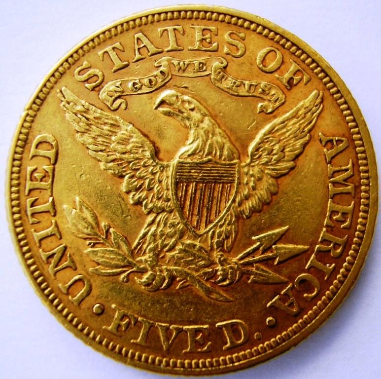 Liberty Head 1894 5 dólares. Libert11