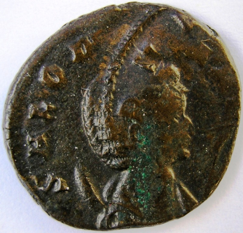 Antoniniano repintada de Salonina. PVDICITIA. Roma Saloni10