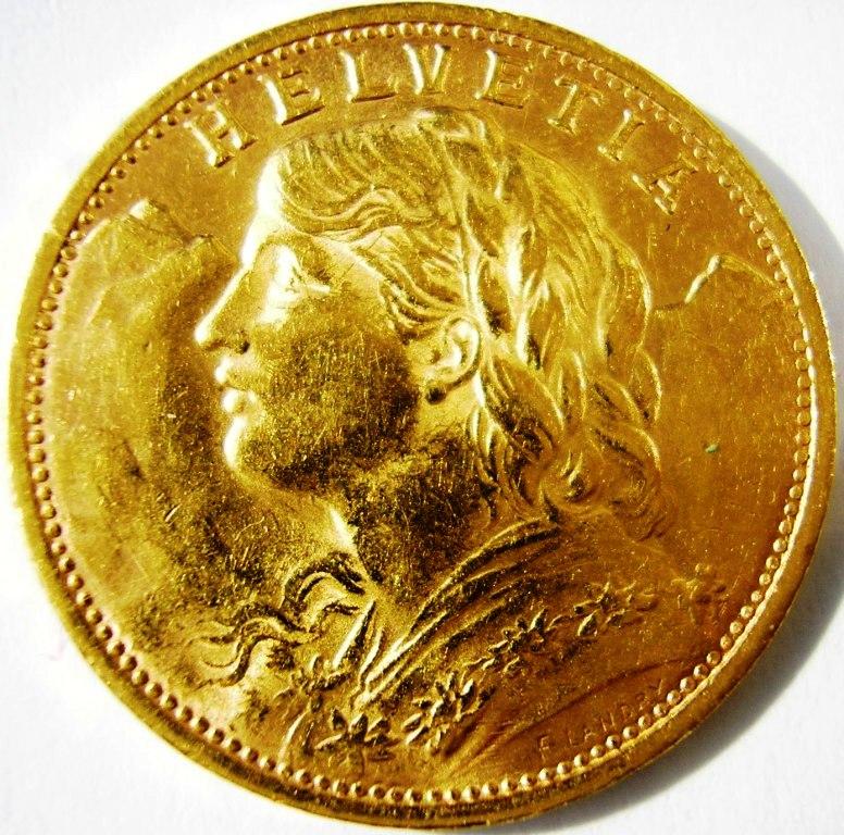 20 francos suizos 1935 Suiza_10