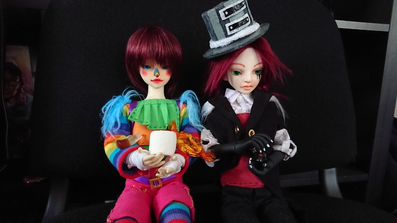 Laughing Jack, rainbow and monochrome ! [DOA bee Too x2] - Page 2 Dsc_2016