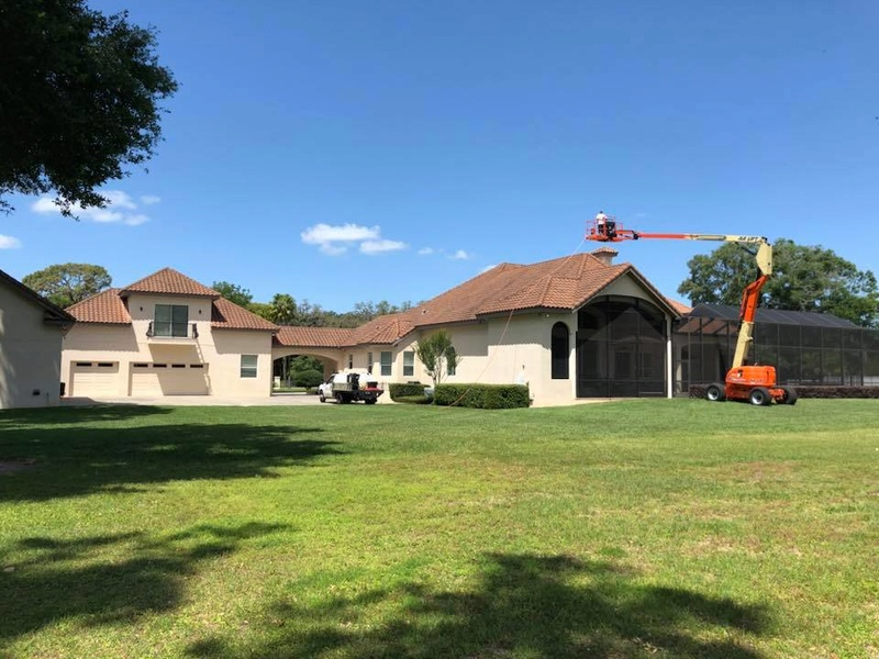 Tile Roof Cleaning In Tampa Florida Area Tile_r12