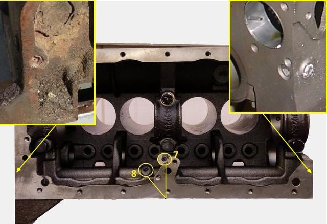 Cheminement de l'huile dans le circuit de graissage du moteur GO DEVIL Boucho10