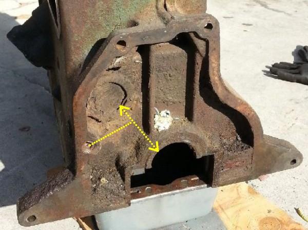 Cheminement de l'huile dans le circuit de graissage du moteur GO DEVIL Canali11