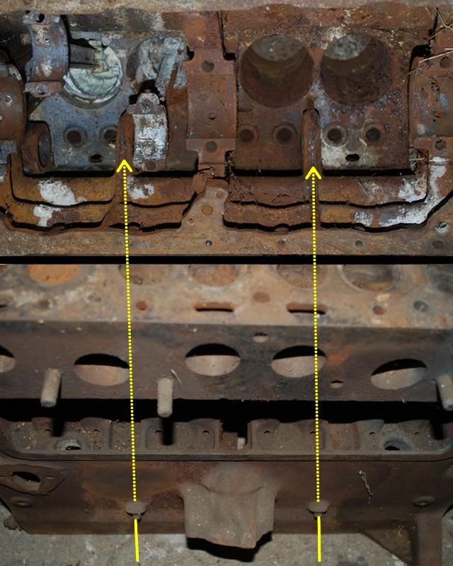 Cheminement de l'huile dans le circuit de graissage du moteur GO DEVIL Graiss10