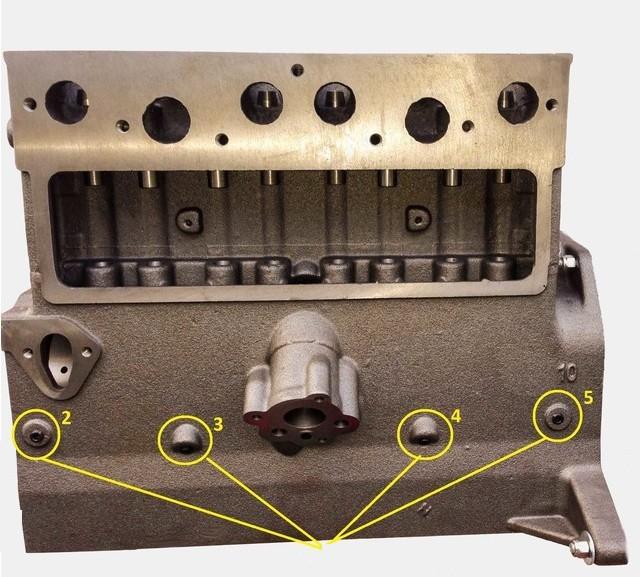 Cheminement de l'huile dans le circuit de graissage du moteur GO DEVIL Orific10