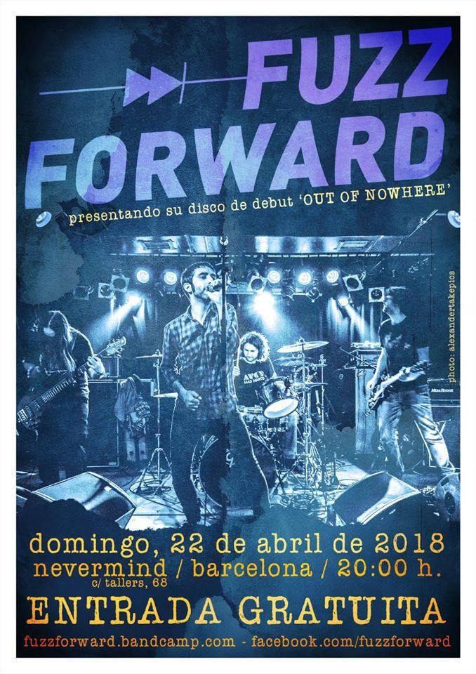 FUZZ FORWARD gratis en Nevermind (BCN) 22 abril 28685410