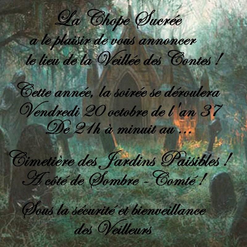 Veillée des Contes la Sanssaint ! Affich11