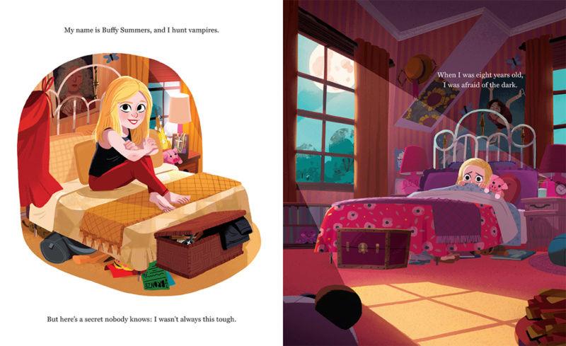 Buffy en livre pour enfants 00112