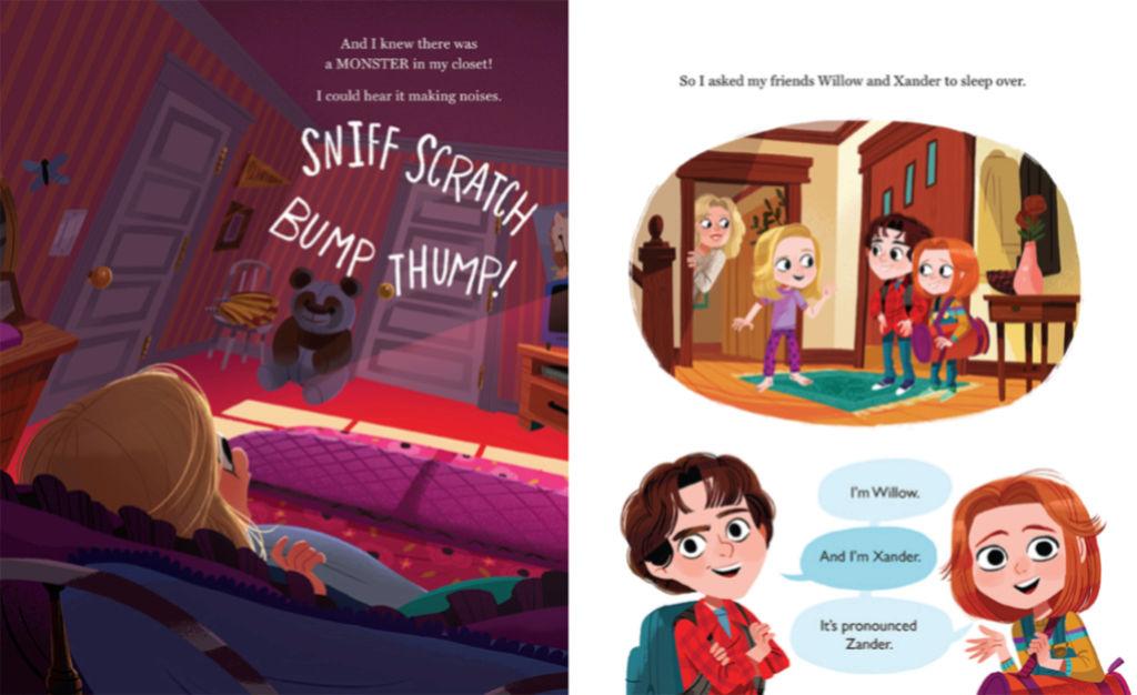 Buffy en livre pour enfants 00212