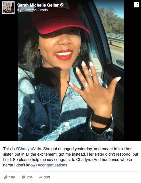 Erreur de destinataire : Sarah reçoit l'annonce de fiançailles d'une inconnue par sms Captu221
