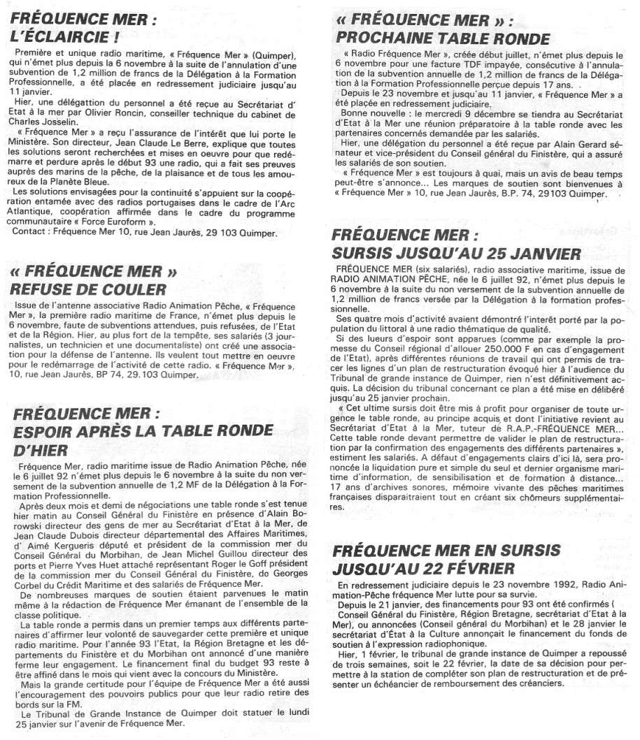 Fréquence Mer [QUIMPER] Freque11