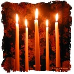 Propriétés des bougies Chande10