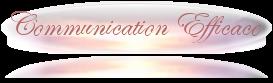 Cliquez ici pour consulter la rubrique Communication Efficace
