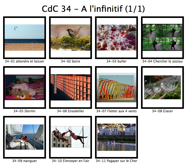 Coup de coeur n° 34 : A l'infinitif Cdc_3411
