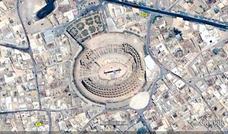 Amphitéâtre d'El Jem Tunisie Amphit10