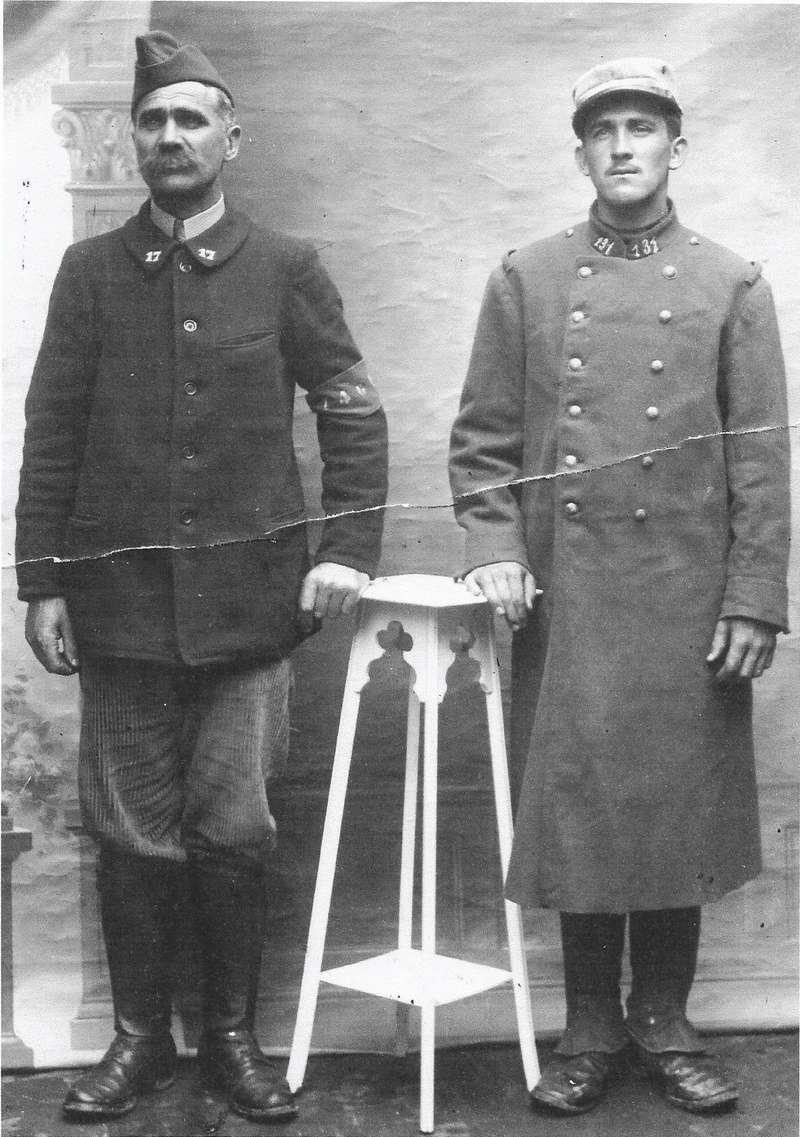 Un petit soldat de la grande guerre : portrait retouché. - Page 17 Marius10
