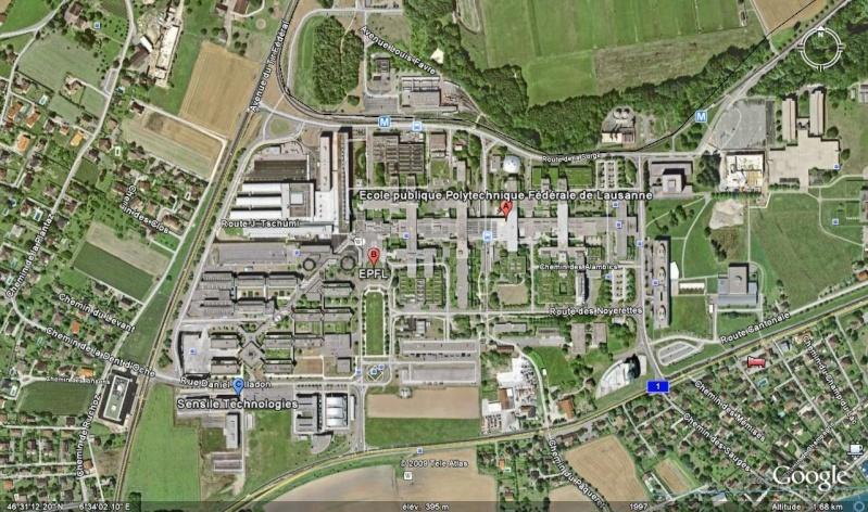 Le plus grand parc solaire de Suisse sera à l'EPFL Polyte10
