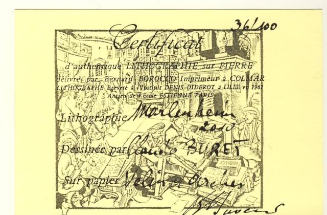 Tom Barocco ,lithographe , au 10ème salon du livre régional de Marlenheim 5 et 6 juin 2010 Image040