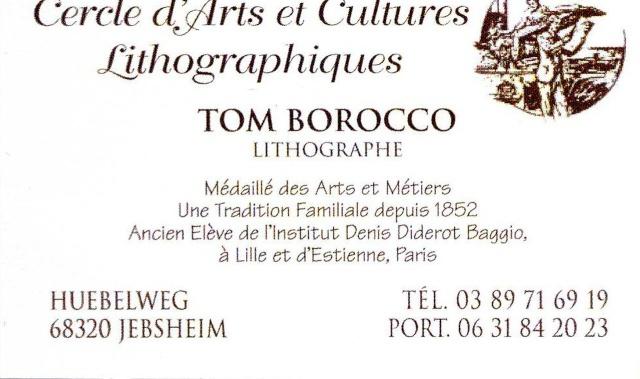 Tom Barocco ,lithographe , au 10ème salon du livre régional de Marlenheim 5 et 6 juin 2010 Image041
