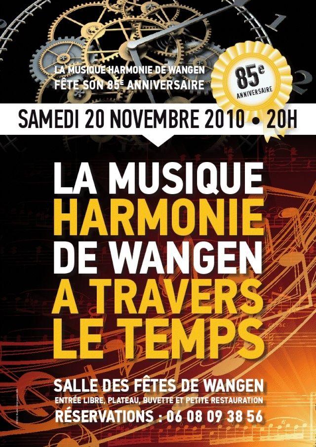 harmonie - 85ème anniversaire de la Musique Harmonie de Wangen  , 20 novembre 2010 Viewer10