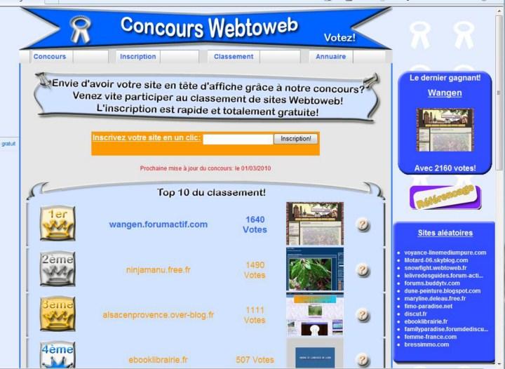 Il était une fois Wangen:1er au classement Webtoweb ! - Page 7 Webtow10