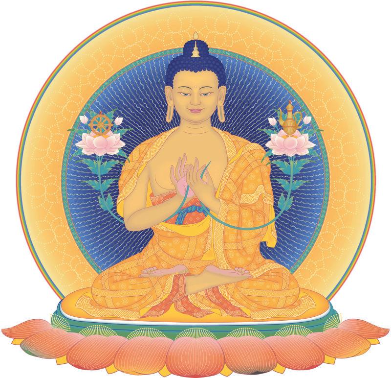 Bouddhisme et Science: La plus petite particule de matière indivisible Buddha10