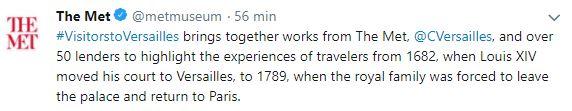 """Exposition """"Visiteurs de Versailles"""" 2017-2018 - Page 6 9999710"""