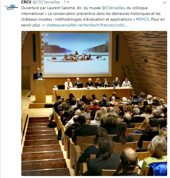 Conservation préventive Demeures historiques/châteaux-musées Colloq10