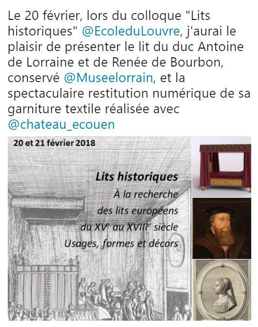Lits historiques du XVe au XVIIIe s. usages, formes & décors Lit10