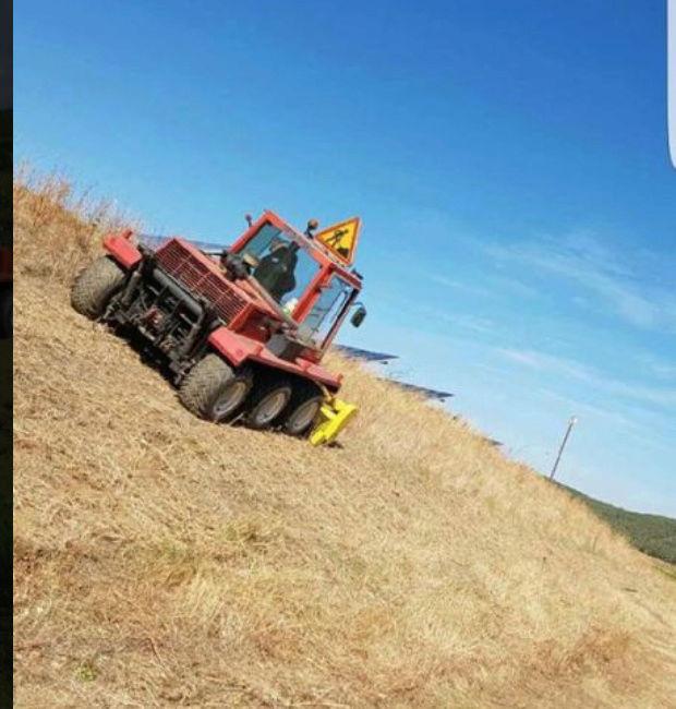 LBC: Tracteur de pente débroussailleur VP 5000 Captur12