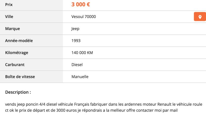 [lbc] Poncin 4x4 diesel Captur19