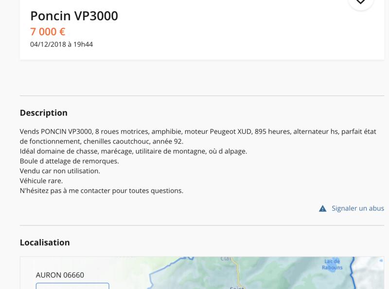 [lbc]  Poncin VP 3000 + chenilles rose! Captur31