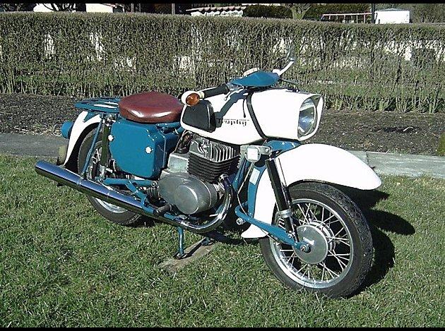 Derny 125 Taon (Roger Tallon) moteur AMC 1957 Mz-25010