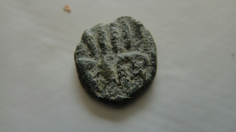 fals omeyyade frappé en al-Andalus au début du VIIIe s. Type Frochoso IIa  Dsc04621