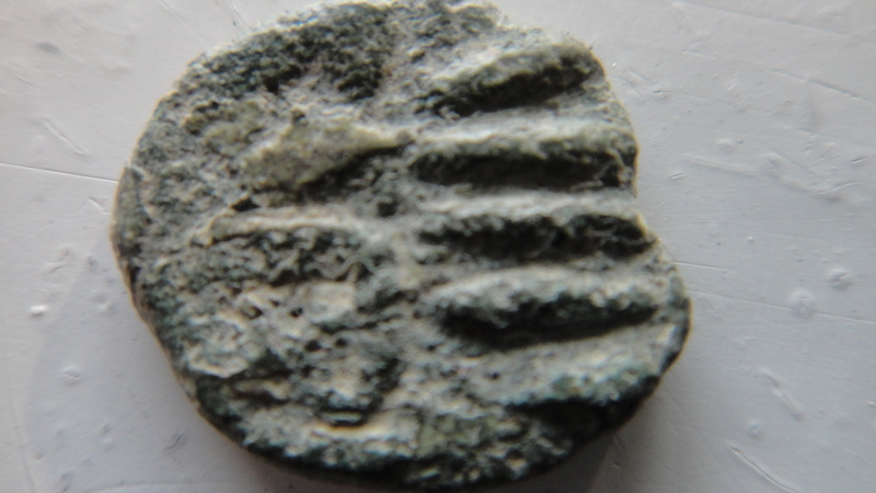 fals omeyyade frappé en al-Andalus au début du VIIIe s. Type Frochoso IIa  Dsc04633