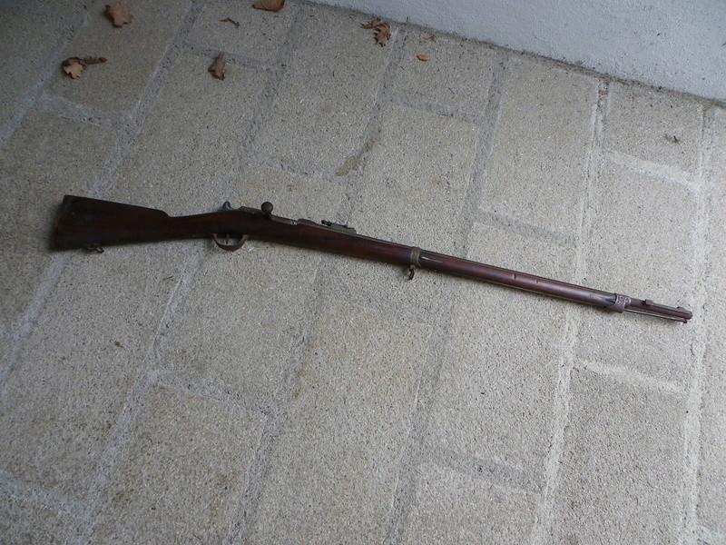 un chassepot daté de .... 1873 Chasse11