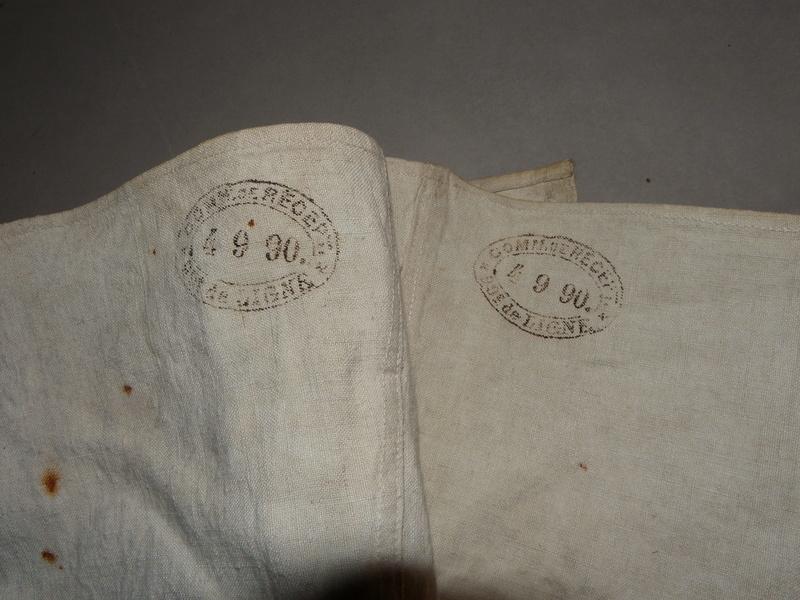 paire de guetres infanterie Mle 1867 . A annuler . Changement de support . Merci  Guetre12